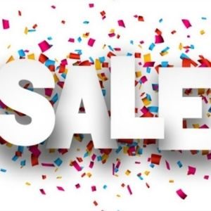 10% + OFF SALE now going on!